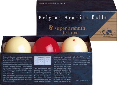 Super Aramith Carom de Luxe Ball Set