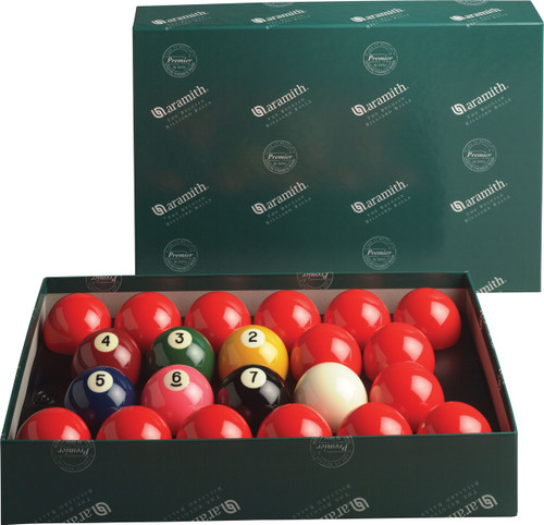 "Aramith Premier 2-1/4"" Numbered Snooker Set"