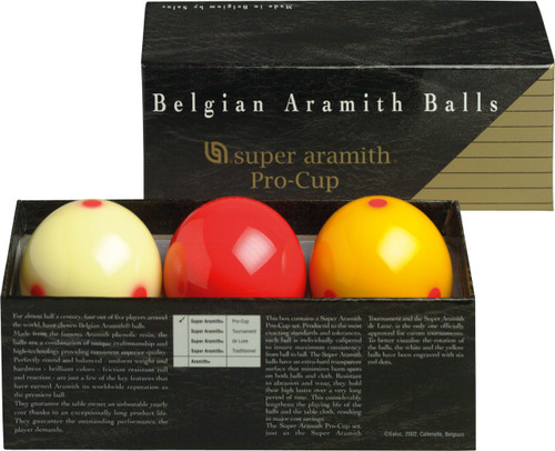 Aramith Super Pro Cup Carom Set
