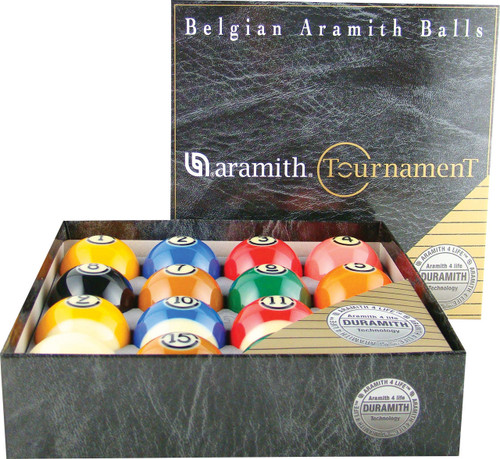 Aramith Tournament Pro Cup TV Ball Set