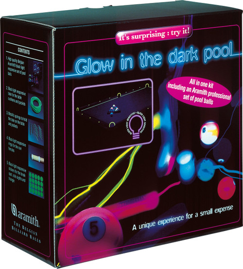 Aramith Glow in the Dark Ball Set
