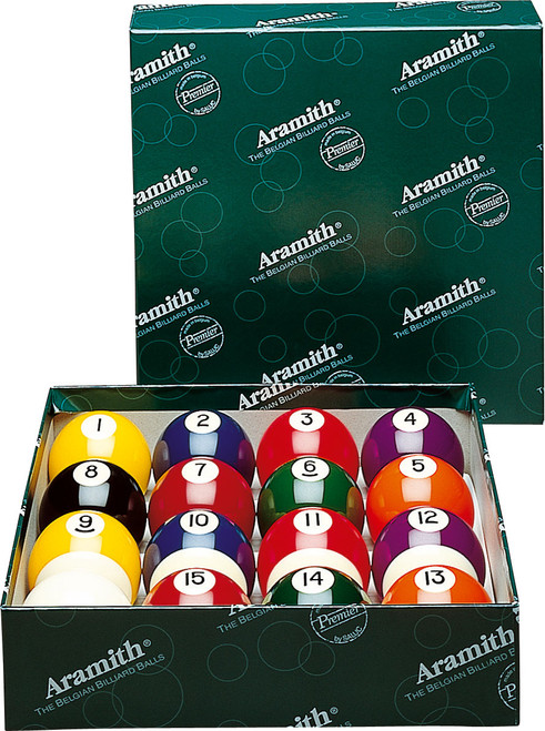 "Aramith Premier 2-1/8""  Ball Set"