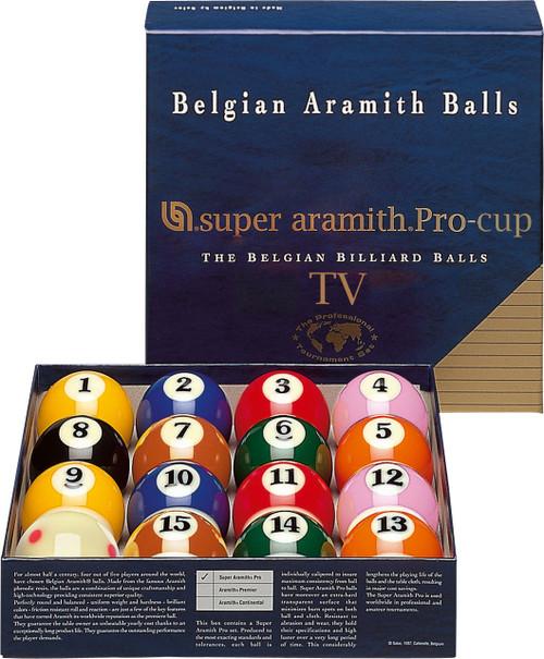 Super Aramith TV Pro Cup Ball Set