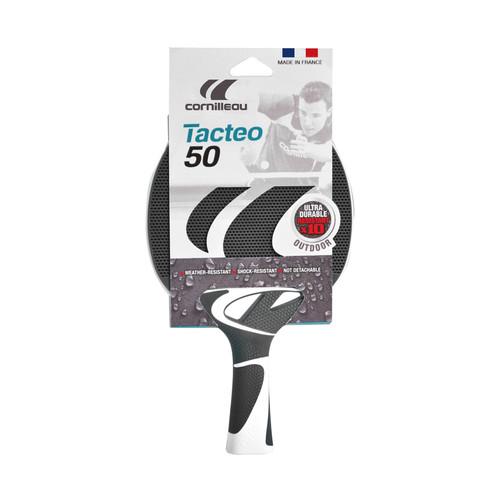 Cornilleau TACTEO 50 Gray Weatherproof Table Tennis Racket