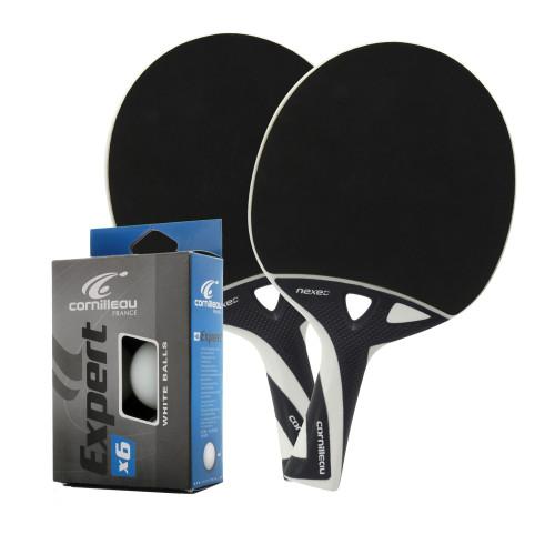 Cornilleau NEXEO X70 Weatherproof Table Tennis 2-Player Racket Set