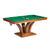 Darafeev Treviso Rectangular Bumper Pool Table with 2 Piece Dining Top