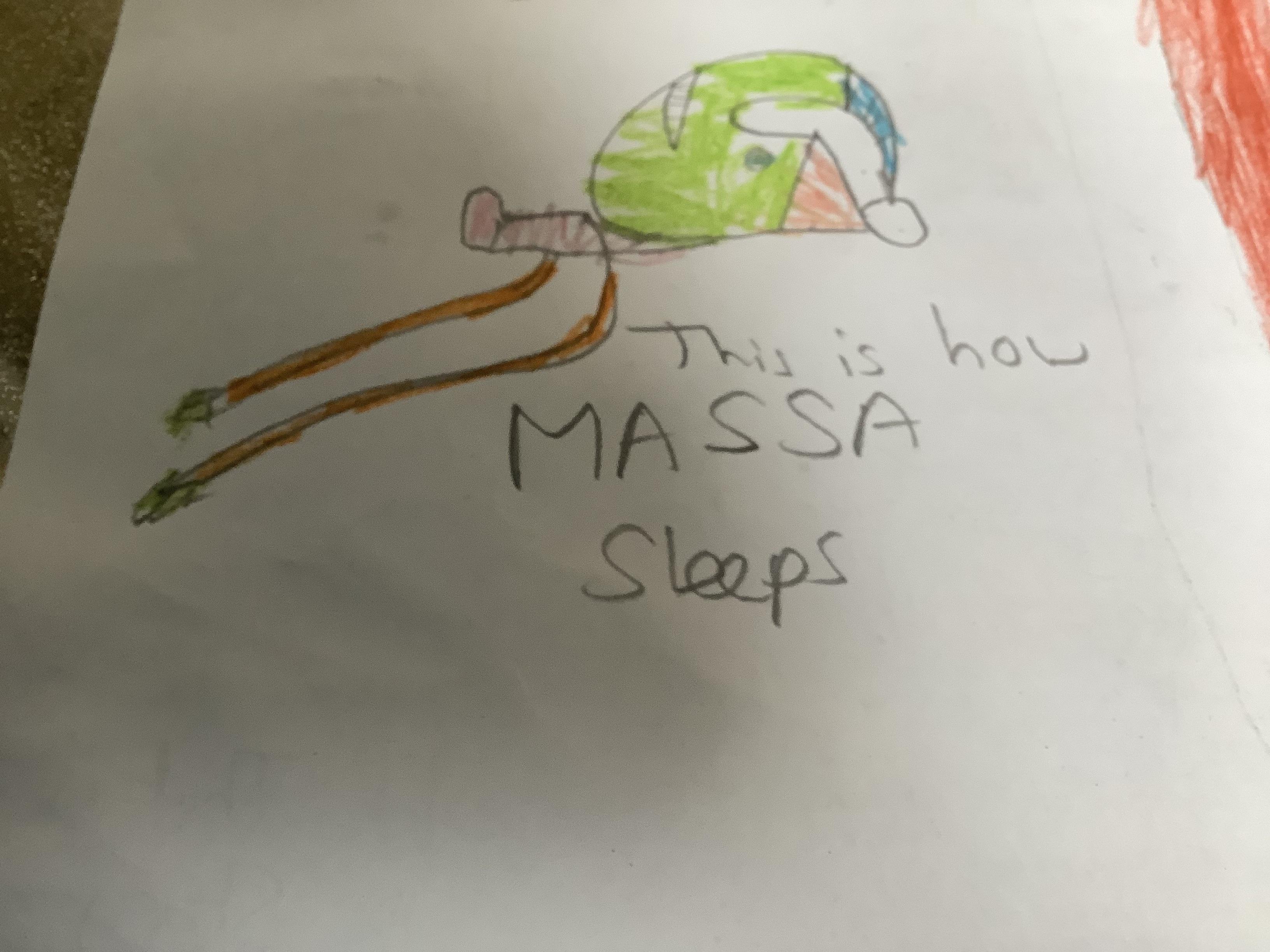 Massa Sleeps