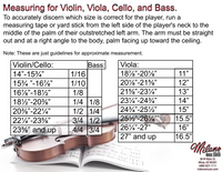 Rental String Bass ($69.99-$99.99)