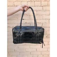 Fluterscooter Black Patent Leather Clarinet Bag