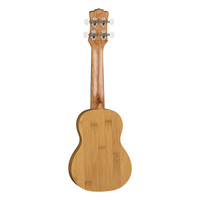 Luna Bamboo Soprano Ukulele w/Gigbag