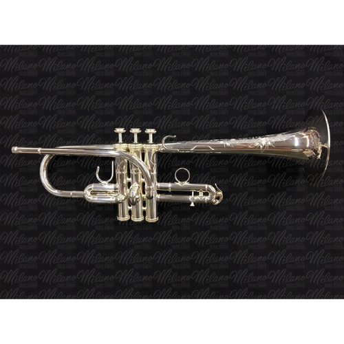 Shires Model 6MS8 E-Flat/D Trumpet