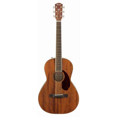 Fender® PM-2 PARLOR NE, ALL-MAHOGANY, NATURAL
