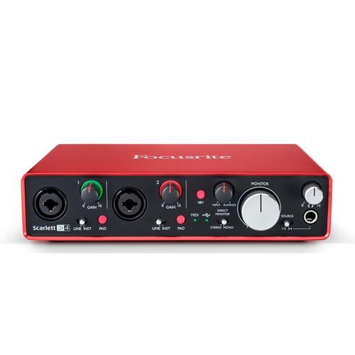 Focusrite Scarlett 2i4 USB-Powered Audio Interface
