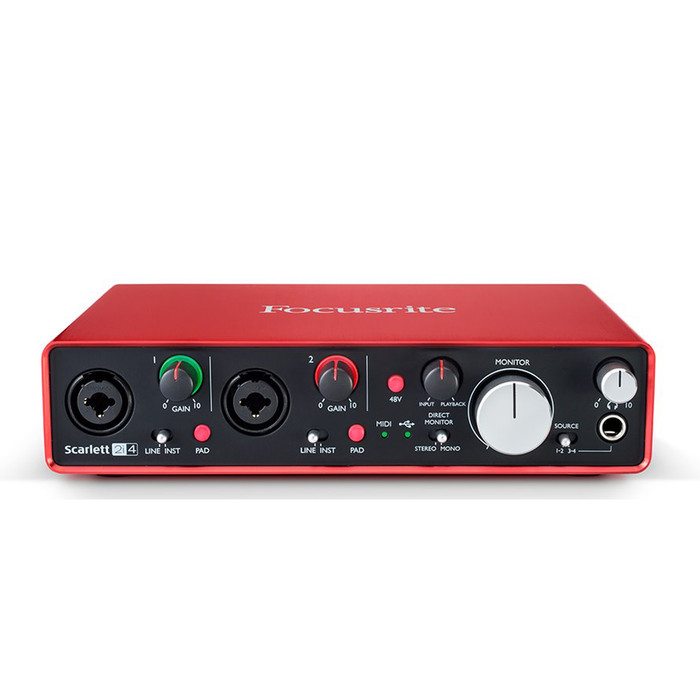 Focusrite Scarlett 2i4 USB-Powered Audio Interface