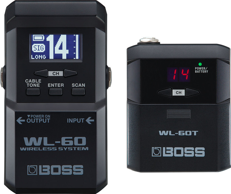 Boss WL-60 Guitar Wireless System