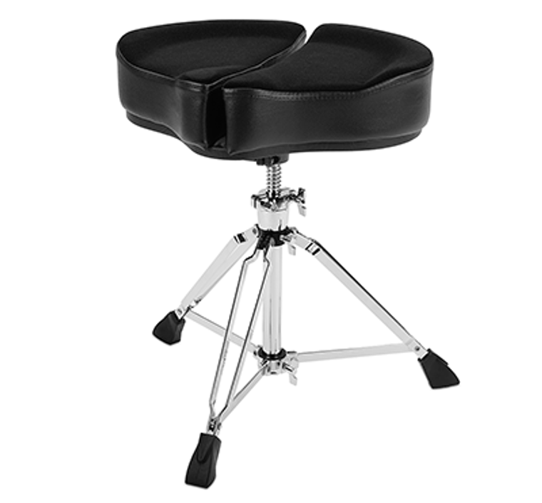 Ahead Black Spinal-G Drum Throne with 3 Leg Base