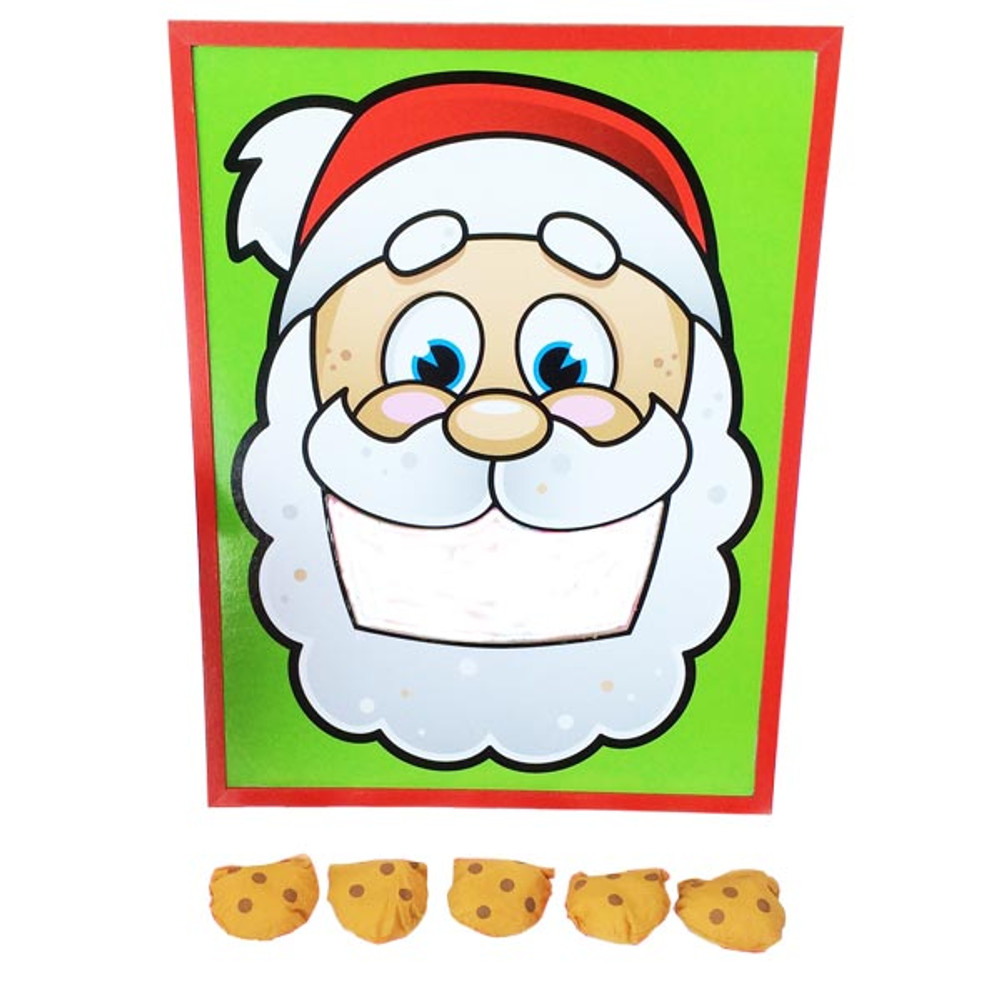 Surprising Santas Cookies Bean Bag Toss Set 14 75 Per Set Pdpeps Interior Chair Design Pdpepsorg