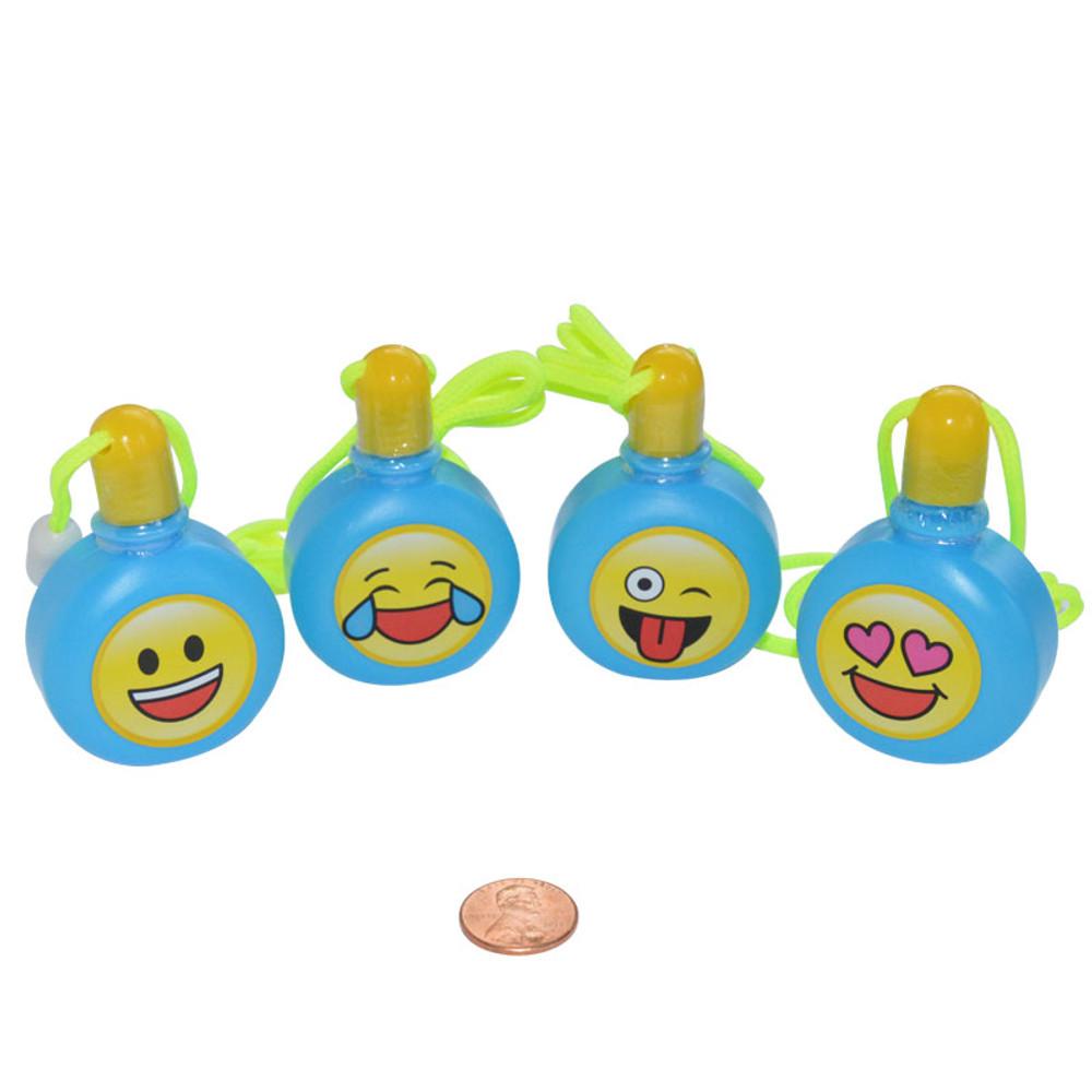 Emoji Bubble Bottle Necklace (24 total necklaces in 2 boxes) 56¢ each