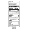 Mini Crossed Shaped Suckers - Nutrition Facts -Ingredients