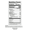 Baseball Shaped Suckers - Nutrition Facts -Ingredients