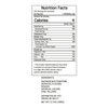 Yellow Candy Straws - Nutrition Facts -Ingredients
