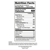 Unicorn Shaped Suckers - Nutrition Facts -Ingredients
