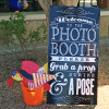 Photo Booth Prop Sign - Strike a Pose