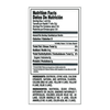 Smarties Nutrition Facts - Ingredients