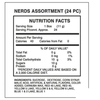 Nerds Candy Nutrition Facts - Ingredients