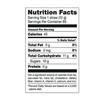 Large Pixie Sticks Nutrition Facts
