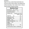 Gummy Bugs Candy Nutrition Facts - Ingredients