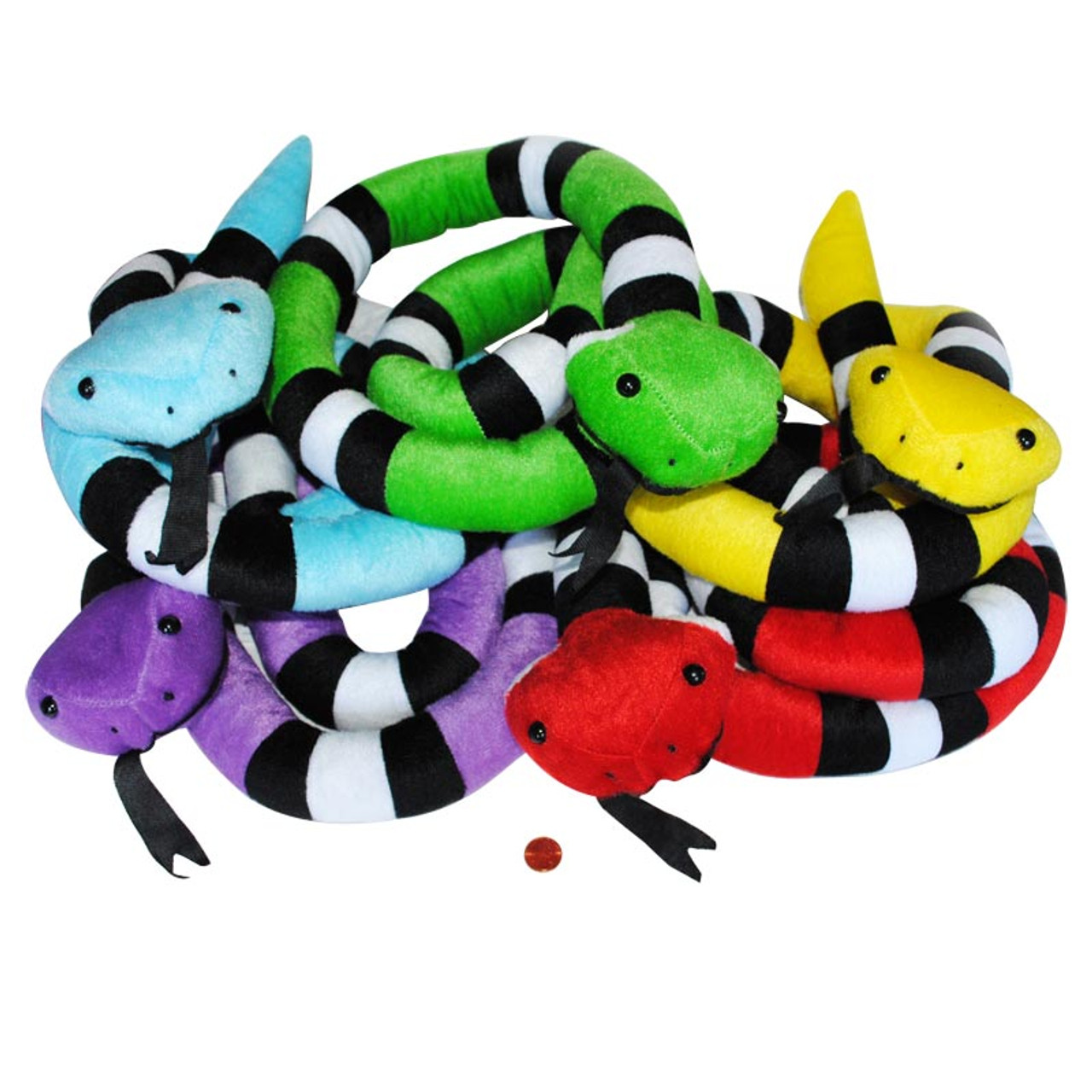 Colorful Stuffed Snakes Wholesale Stuffed Animals