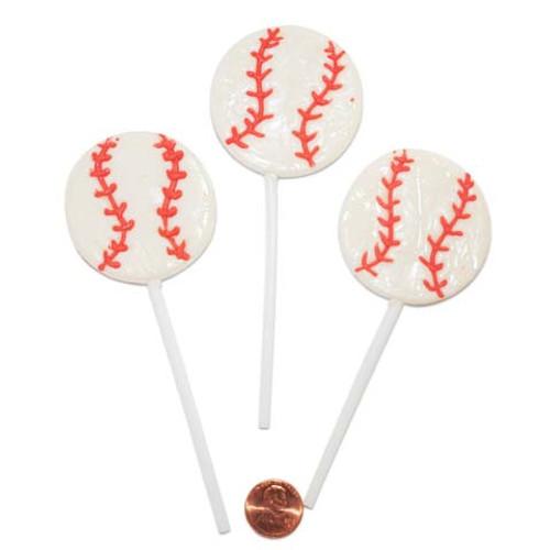 Baseball Shaped Suckers