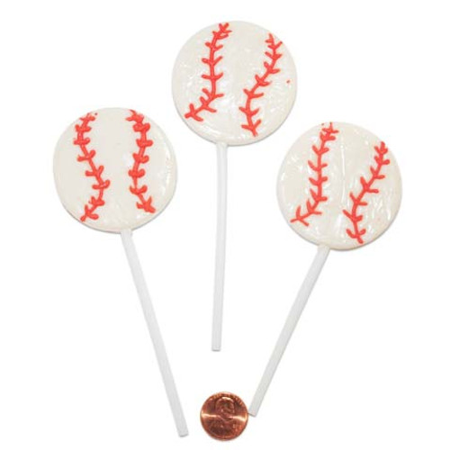 Baseball Shaped Suckers