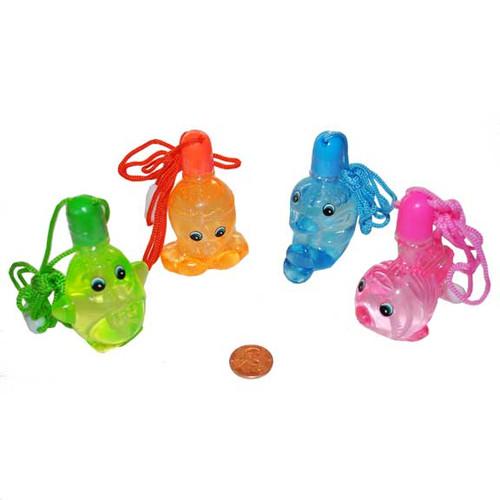 Sea Life Bubble Bottle Necklaces