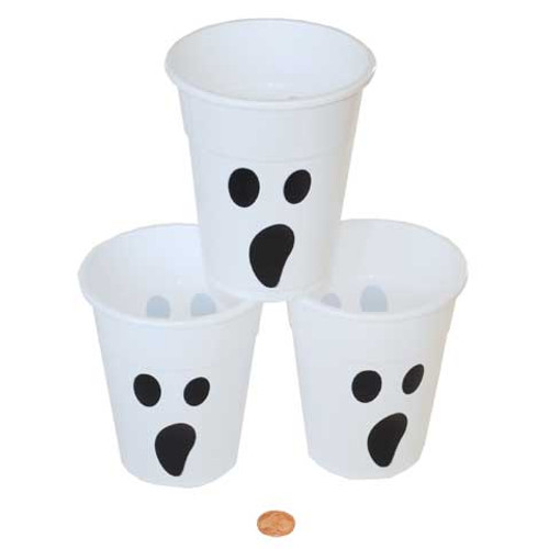 Plastic Disposable Ghost Cups