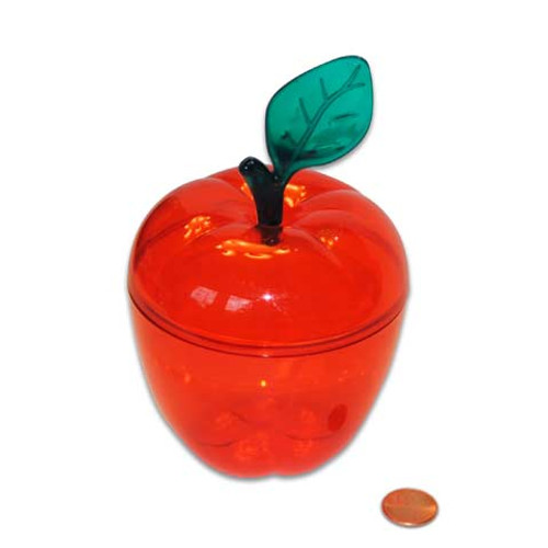 Plastic Apple Container