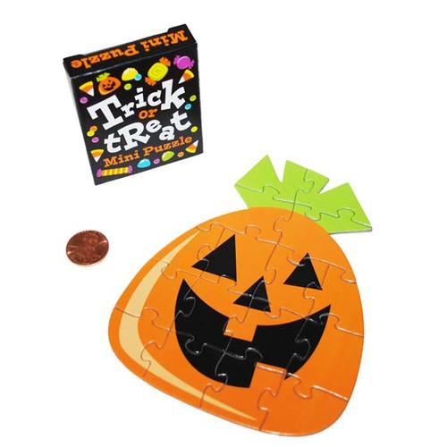 Mini Halloween Cardboard Puzzles