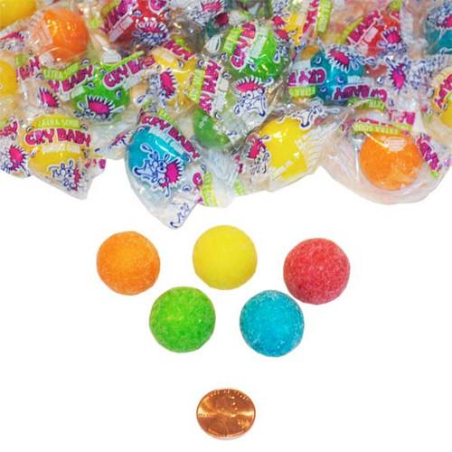 Cry Baby Brand Sour Bubble Gum Balls