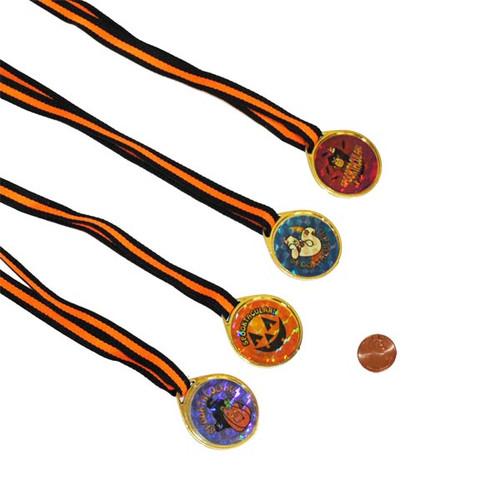 Plastic Halloween Necklace Award Metals