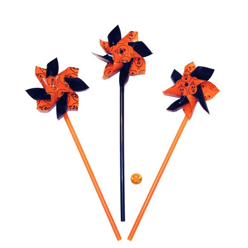 Halloween Themed Pinwheels