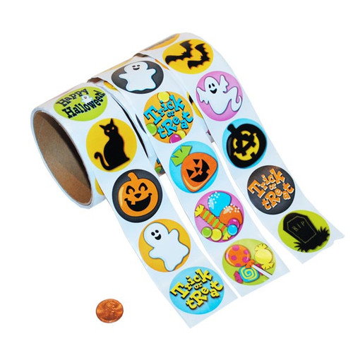 Halloween Roll Sticker Set
