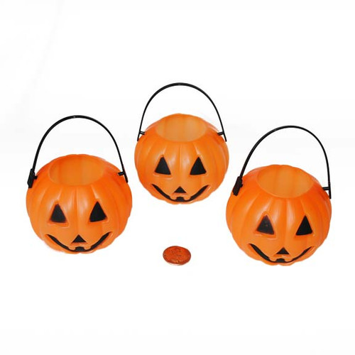 Mini Pumpkin Treat Containers - Bulk Wholesale