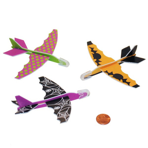 Mini Halloween Foam Gliders