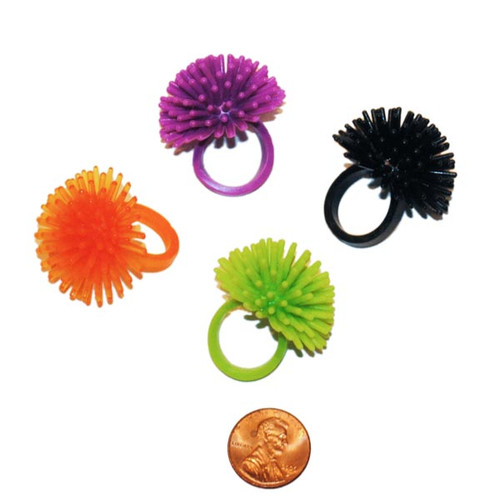 Halloween Soft Spiky Ring Small Toy