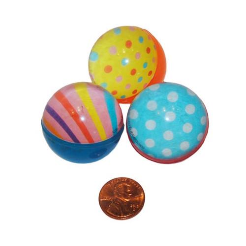 Polka Dot and Stripes Bouncing Balls