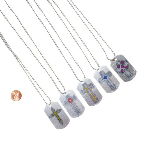 Christian Themed Dog Tag Necklaces Prize