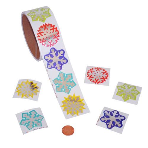 Snowflake Sticker Roll