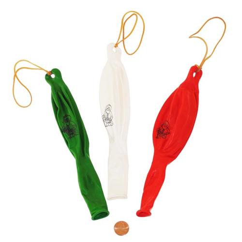 Holiday Santa Punch Ball Toys