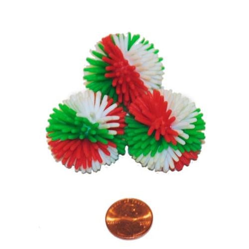 Christmas Porcupine Toy - Small Ball